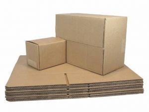 Cajas, papel y cartón